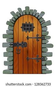 Dungeon Door (With Path)  sc 1 st  Shutterstock & Dungeon Door Images Stock Photos \u0026 Vectors | Shutterstock