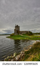 Dunguaire castle near Kinvarra in Co. Galway, Ireland, Europe