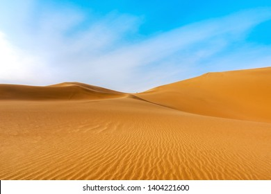 Dunhuang Desert Sand Mountain Scenery