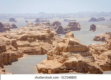 Dunhuang Yardang National Geopark, China