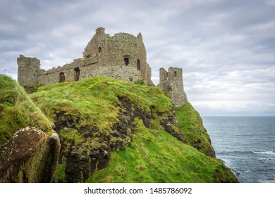 Dunluce Castle at the Antrim Coast, Northern Ireland