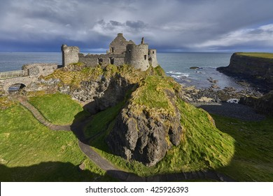 Dunluce Castle, Antrim, Northern Ireland