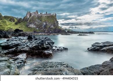 Dunluce Castle, Bushmills, Ireland