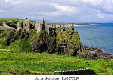 Dunluce Castle is a now-ruined medieval castle in Northern Ireland