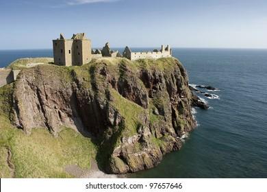 Dunnottar Castle, near Stonehaven in Aberdeenshire.
