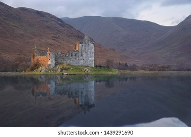 Dunnottar Castle, Scottish Highlands in the United Kingdom