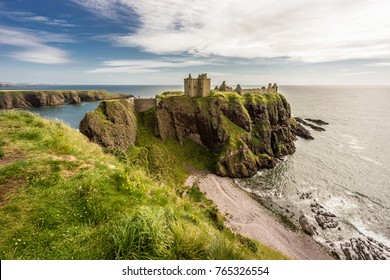 Dunnottar Castle in Stonehaven, Scotland