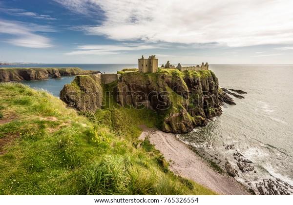 Dunnottar Castle in Stonehaven, Schottland
