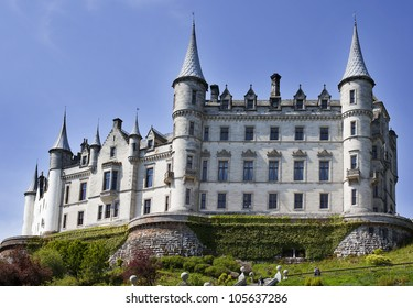 Dunrobin Castle , Highlands, Scotland