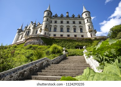 Dunrobin castle , palace and park in Sutherland, in the Highland area of Scotland, Great Britain