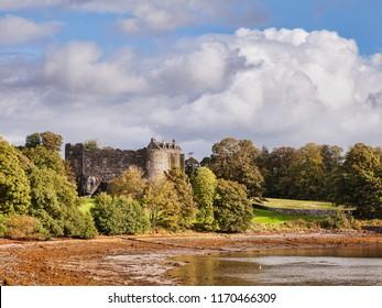 Dunstaffnage Castle, near Oban, Argyll and Bute, Scotland, UK.