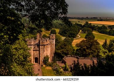Dunster Castle Stately Home Somerset England UK