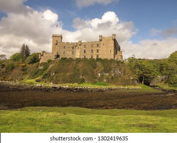 Dunvegan Castle. Isle of Skye, Scotland, United Kingdom, May 2014