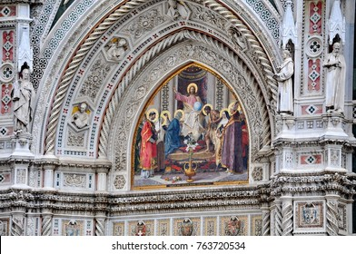 Duomo Cathedral (Cattedrale Santa Maria del Fiore, Cathedral of Saint Mary of the Flowers), Florence, Italy