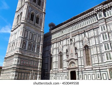 Duomo Cathedral detail; Florence, Italy 3  Abstract view.