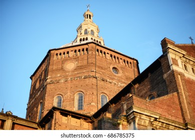 Duomo or cathedral in the evening light in Pavia, Italy, Europe