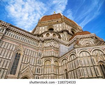 Duomo di Firenze. Basilica di Santa Maria del Fiore (Basilica of Saint Mary of the Flower) in Florence, Italy.