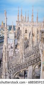 Duomo Di Milan Terrace , Italy