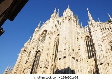 Duomo di Milano, facciata nascosta