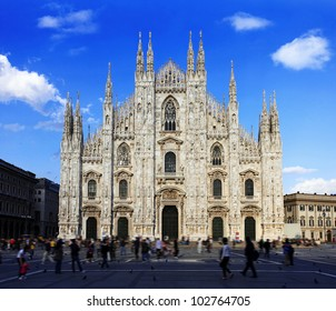 Duomo di Milano (Milan Cathedral), Milan, Italy