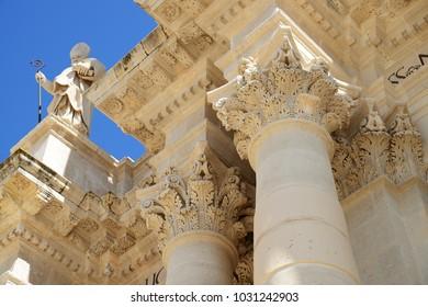 Duomo di Siracusa (Cathedral of Syracuse), Sicily, Italy