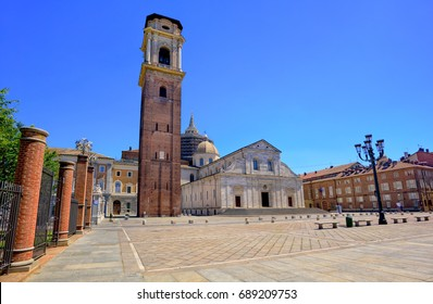 Duomo di Torino is catholic cathedral where the Holy Shroud of Turin is rested, Turin, Italy