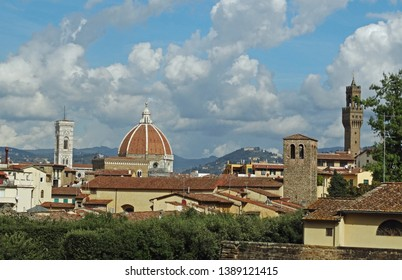 Duomo Florance, Italy view from above city