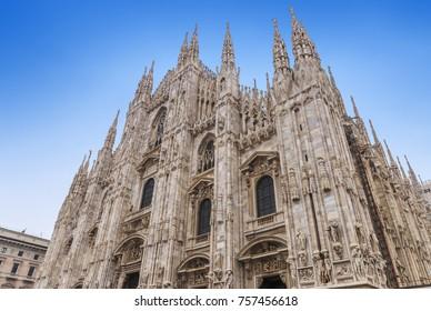 Duomo of Milan in Italy