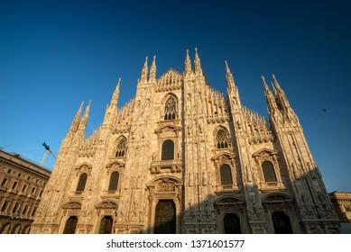 Duomo of Milano city, Italy, Europe