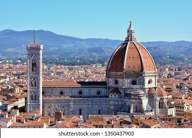 Duomo Santa Maria del Fiore in Florence, Tuscany, Italy
