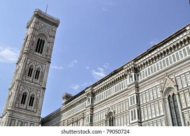 Duomo Santa Maria Del Fiore and Campanile, Florence, Italy