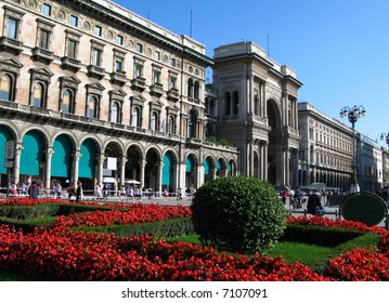 Duomo square 01, Milan, Italy