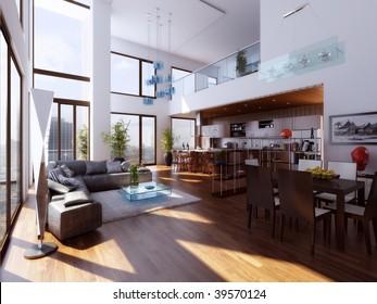 Duplex interior
