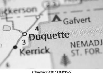 Duquette. Minnesota. USA