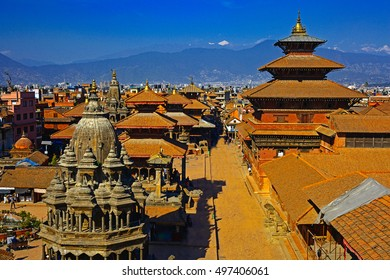 Durbar square in taken in Old city  Kathmandu, Nepal