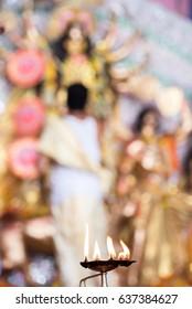 Durga Puja festival celebration, Mumbai, Maharashtra, India, southeast, Asia.