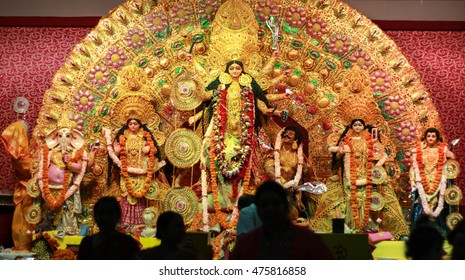 Durga Puja Idol, A biggest hindu festival in India