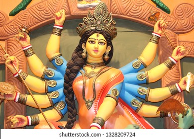 Durga Puja,also called Durgotsava, is an annual Hindu festival in the Indian subcontinent that reveres the goddess Durga. It is particularly popular in West Bengal.