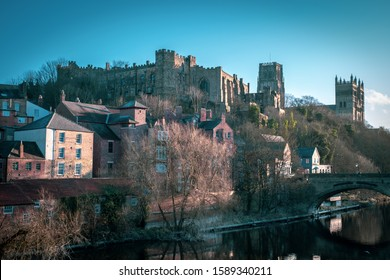 Durham Castle and Durham Cathedral, England