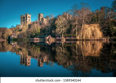 Durham Cathedral on the River Wear, County Durham, England