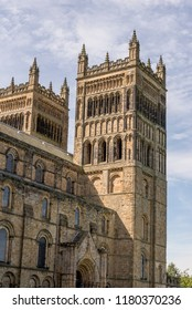 Durham Cathedral from Palace Green, County Durham, North East England, United Kingdom