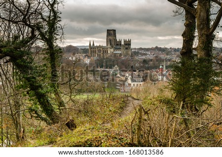 Durham Cathedral Pelaw Wood Durham City Stock Photo Edit Now