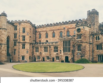 Durham, England - 26th July 2015: Durham University which has a copy of Magna Carta, in Durham, UK