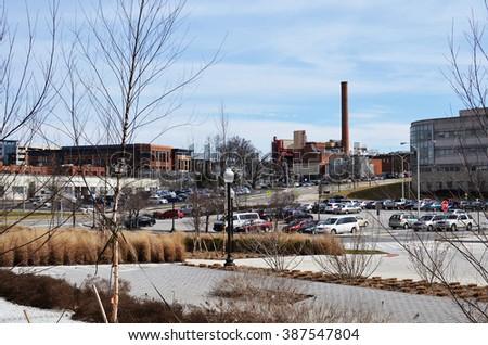 Durham Hall Coal Power Plant Parking Stock Photo Edit Now