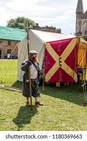 Durham Medieval Festival 2018 - Photo taken on August 5 2018 at Medieval Festival - Durham - United Kingdom