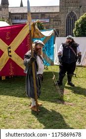 Durham Medieval Festival 2018 - Phototaken on August 5 2018 at Medieval Festival - Durham - United Kingdom