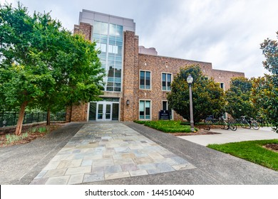 DURHAM, NC, USA - JUNE 18: Vinik Building -  Fitzpatrick CIEMAS on June 18, 2017 at Duke University in Durham, North Carolina.