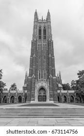 DURHAM, NC, USA - JUNE 18:  Duke Chapel on June, 18, 2017 at Duke University in Durham, North Carolina.