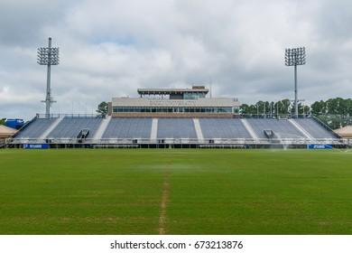 DURHAM, NC, USA - JUNE 18: Koskinen Stadium on June 18, 2017 at Duke University in Durham, North Carolina.