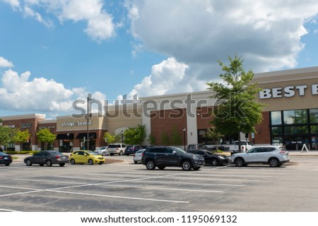 Durham Nc United States 09202018 Exterior Best Stock Photo Edit Now